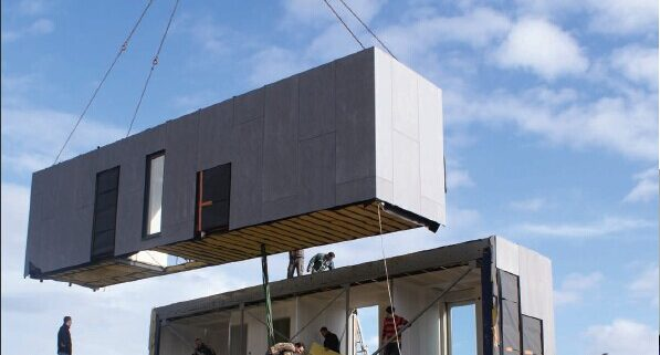 combined container house5